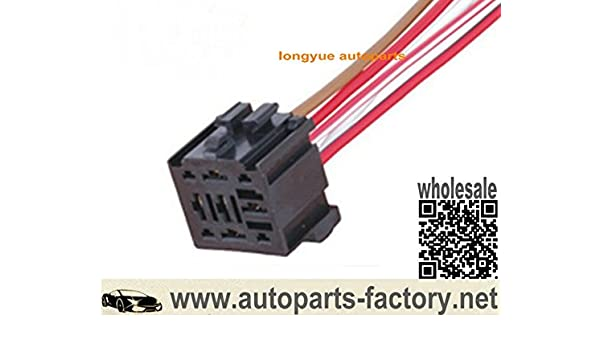 9 Pin 5 Wire Universal Relay Socket Connector Wiring Harness ...  Pin Wiring Harness on