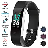 ITSHINY Montre Connectée, Montre Fitness Tracker Etanche IP68 Bracelet Connectée...