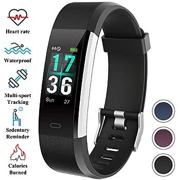 ITSHINY Pulsera Actividad Inteligente, Monitores Actividad Pulsera Deportiva Impermeable IP68 Reloj Fitness Tracker Hombre Mujer