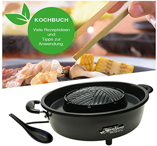 TomYang BBQ Special Edition - Original Thai Grill & Hot Pot. Bewährte TomYang-Qualität mit Extras. Inkl. TomYang Kochbuch und Hot Pot - Schöpfer