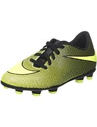 TG. 36.5 EU Nike Jr Bravata II FG Scarpe da Calcio Unisexbambini Nero Blac