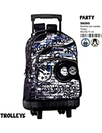 Montichelvo Montichelvo Trolley CG Party Bolso de Viaje, 46 cm, (Multicolour)