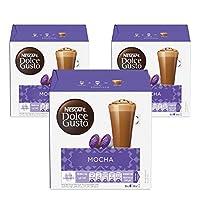 Nescafe Dolce Gusto Mocha Coffee - 3X16 Capsules,