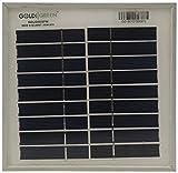 GOLDI GREEN 3 W Solar Panel (White)