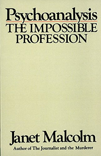 Download PDF Psychoysis, the Impossible Profession by Janet ... on