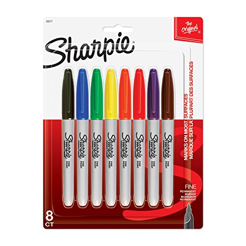 sharpie-fine-point-permanent-markers-8-pkg-assorted-colors