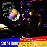 #6: Benjoy® Car Interior USB Disco Ball Ambient Light Car Interiro Light starry effect For Chevrolet Beat