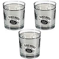 Contenance : Lot de 3 verres à Whisky.   Dimension : 22 Cl.   Matière : Verre.   État : Neuf sous emballage.   Ce lot est composé de 3 verres à Whisky. Leur contenance est de 22cl, contenance idéal pour faire un whisky coca. Le design des verres e...
