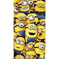 Despicable Me 70 x 140 cm 100 Percent Cotton Beach Towel, Multi-Colour