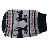 #3: Generic Black Turtleneck Pet Puppy Dog Sweater Clothes - Size S