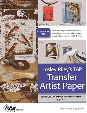 Lesley Riley's TAP Transfer Artist Paper Class Room Pack: 100 Iron-on image transfer sheets ??? 8.5 x 11 by Lesley Riley (2012-11-01)
