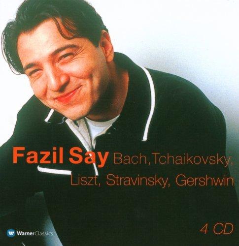 Fazil Say joue Bach, Tchaikovski, Liszt, Stravinski, Gershwin (Coffret 4 CD)
