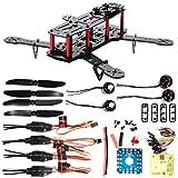 XCSOURCE 4-Axis 250 3K Carbon Fiber FPV Quadcopter Kit Combo CC3D Motor 12A ESC RC005