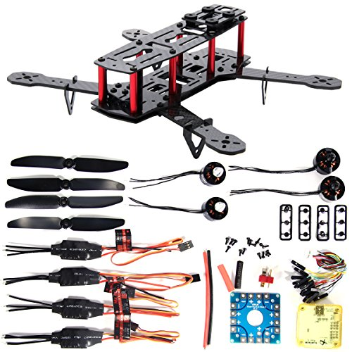 XCSOURCE 4-Achsen 250 3K Karbonfaser FPV Quadcopter Kit