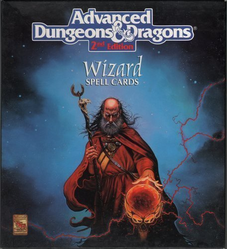 Deck of Wizard Spells (Advanced Dungeons and Dragons: The Official Dungeon Master Decks) by Steve Winter (1992-02-01)