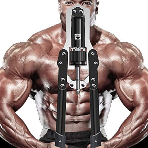GYJ Einstellbare Power Twister-Stange, hydraulischer Armtrainer, Krafttrainer-Zugtrainer, Trainingsmuskel-Fitnessgerät-Brustgriffstange (Fitness-studio Twister)