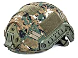TFG telino Couvre Casque Airsoft Cache Casque MH & PJ Marpat Woodland–Top Fly Gear 955