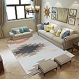 L&ZX Modernes Flur Schlafzimmer Wohnzimmer Große Teppiche, Rutschfeste Easy-Reinigung Für Teppich, Teppich,160Cmx230cm