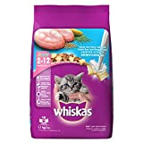 #1: Whiskas Dry Cat Food, Junior Ocean Fish for Kittens, 1.1 kg