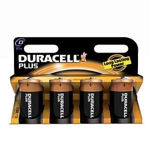 Duracell Batterie Plus Mono D 1,5V im 4er Pack: Amazon.de
