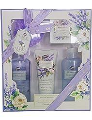 Gloss! Les Belles Fleurs Coffret de Bain Lavande 6 Pièces