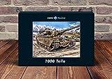 VERO PUZZLE 52114 Industrie - Panzer, 1000 Teile in hochwertiger, cellophanierter Puzzle-Schachtel