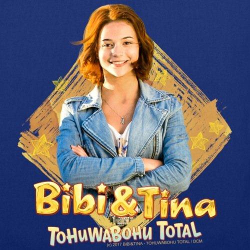 Spreadshirt Bibi Und TinaTohuwabohu Total Tina Martin Stoffbeutel Royalblau