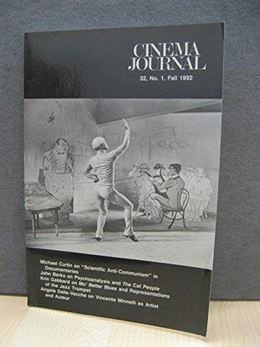 Cinema Journal 32, No. 1, Fall 1992
