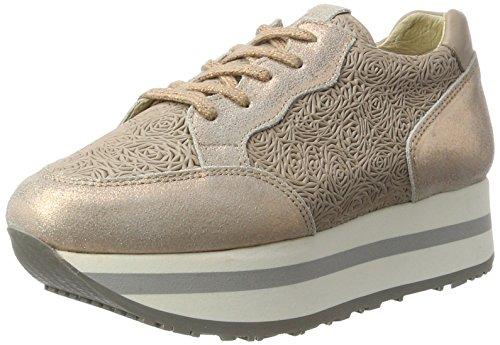 Bronx Damen BX 1248 Bforeverx Sneaker Mehrfarbig (Rosegold/Taupe)