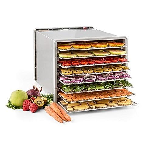 Klarstein Fruit Jerky Pro 8 Déshydrateur alimentaire de qualité professionelle