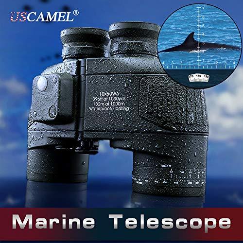 ZMM Telescopio Doble Tubo Impermeable 10X50
