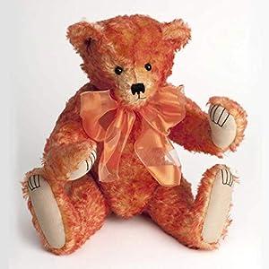 Canterbury Bears ltd 183 Skylar Mohair - Oso de Peluche, Color Rojo