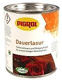 PIGROL DauerLasur - 5 Ltr. - (eiche) für alle Hölzer im Aussenbereich