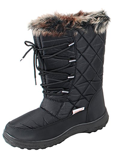Gevavi Boots ABBY06380 Abby Damen Stiefel Gummi, 38, Grau
