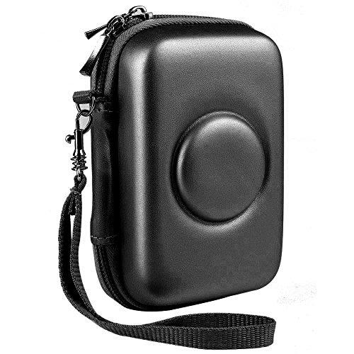 Galleria fotografica Katia Borsa da viaggio custodia rigida di stoccaggio EVA per fotocamera digitale istantanea Polaroid Snap (nero)