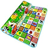 #10: Portable Kids Play Mat and Foam Floor Gym with Beautiful Graphics and Adorable Animal Friends - Portable for Outdoor or Indoor Use