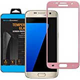 Tempered Glass 9H Full Cover Screen Protector For Samsung Galaxy S7 - Rose Gold
