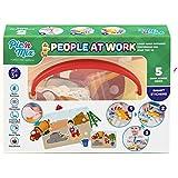Picnmix Gente en el Trabajo Profesiones Juegos y Juguetes Educativos para niños 3 años a 7 años