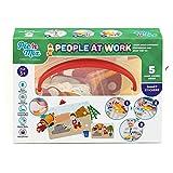 Picnmix Gente en el Trabajo Profesiones Juguetes Educativos para niños 3 años a 7 años Juegos Educativos Juguetes para niños y niñas