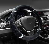 #8: NIKAVI Silk Steering Cover (BLACK)