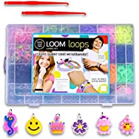 Loom Bands Kit and Clips Collection mit 5500 Bandz + 170 Clips + 2 ganchos +