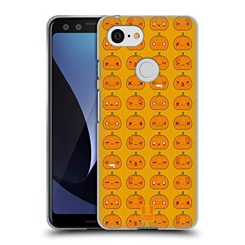 �rbis Muster Halloween Kawaii Soft Gel Hülle für Google Pixel 3 ()
