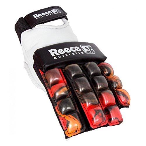 Reece Hockey Feldhandschuh - YELLOW-RED-BLACK, Größe #:XXS