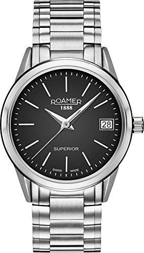 Roamer SUPERIOR 3H LADIES 508856 41 55 50 Reloj de Pulsera para mujeres