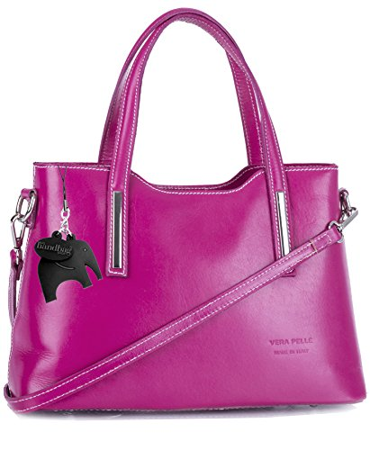 Big Handbag Shop - Borsa a tracolla donna Pink