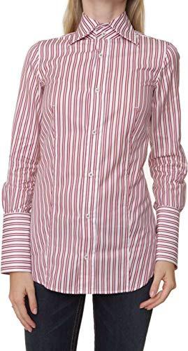 dsquared damen Dsquared² Damen Bluse Hemdbluse , Farbe: Rot, Größe: 34