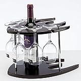 Emma Home Weinregal European-Style MDF Fisch Rotwein Rack Weinglas Halter Haushaltsgegenstände