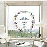 Beilinheng Adhésif 3D Autocollants Muraux Colorés Décor À La Maison des Photos De Murs Amovibles pour Le Salon Filles Chambre Stickers Muraux 30X60cm