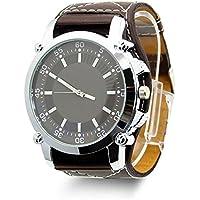 Creation® Uomini di modo della vigilanza di quarzo Acciaio Quadrante analogico di sport di lusso in pelle band orologi