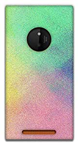 The Racoon Grip COLOR PALETTE hard plastic printed back case / cover for Nokia Lumia 830